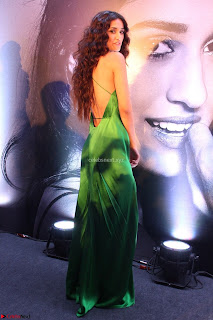 Disha Patani in Beautiful Green Gown at her App Launch 007.JPG