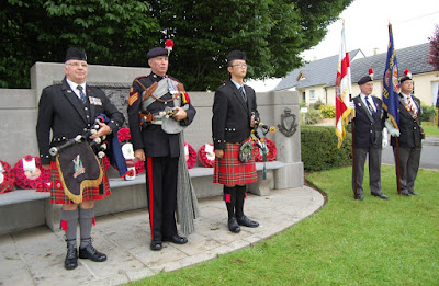 The Pipers, with permission of Lieutenant Clare Lomas