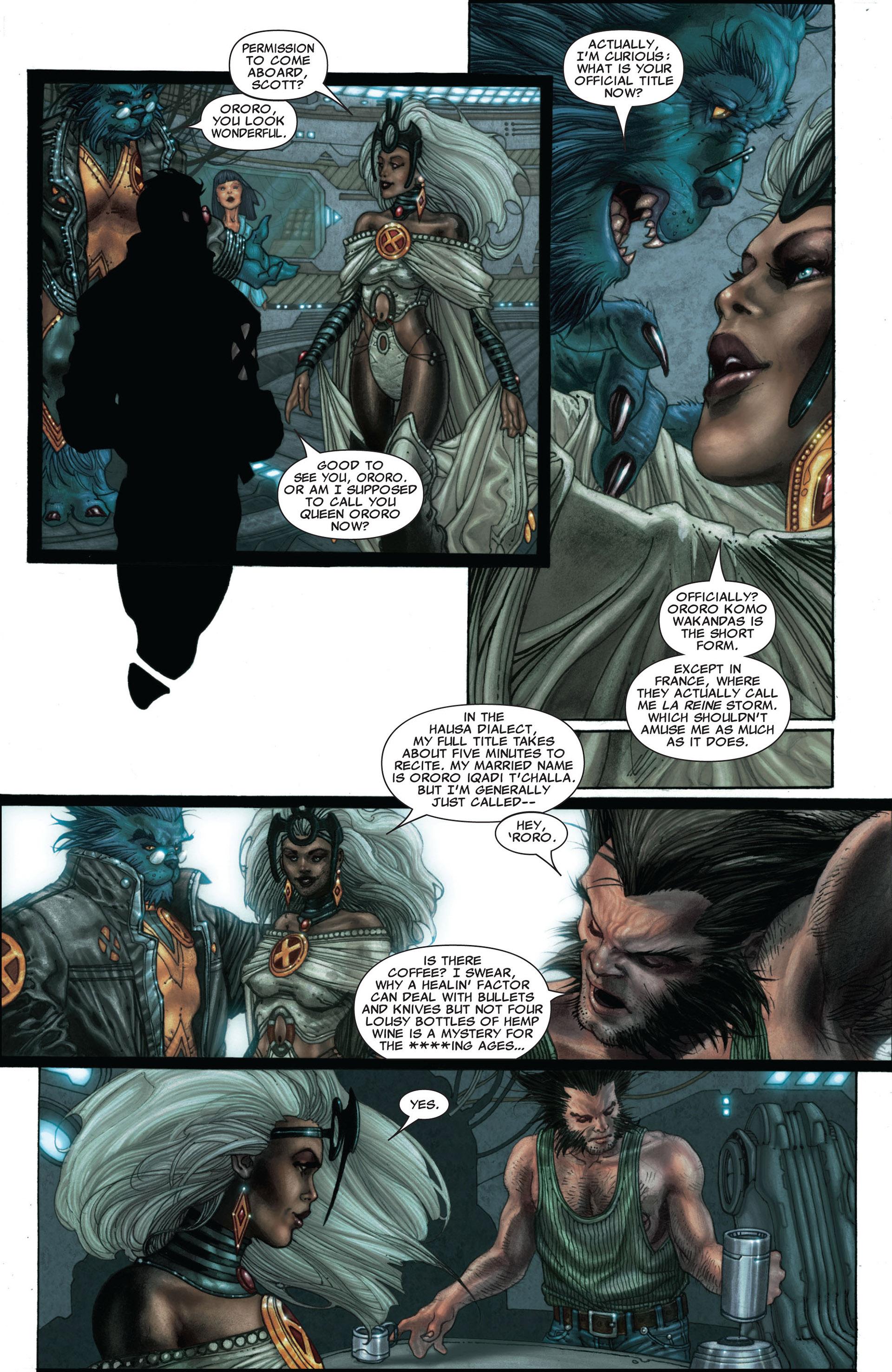 Read online Astonishing X-Men (2004) comic -  Issue #25 - 11