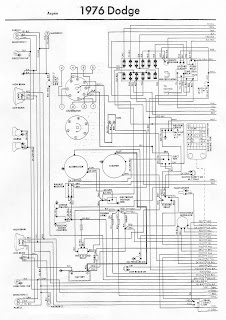 Free Auto Wiring Diagram: 1976 Dodge Aspen Engine Compartment Wiring Diagram