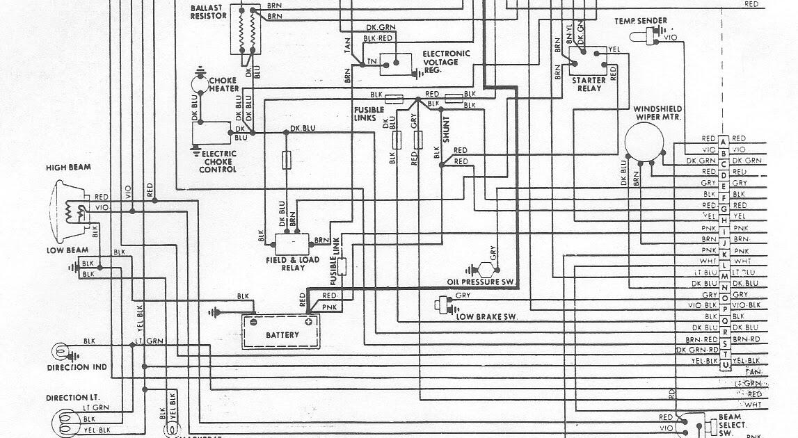Free Auto Wiring Diagram: 1976 Dodge Aspen Engine