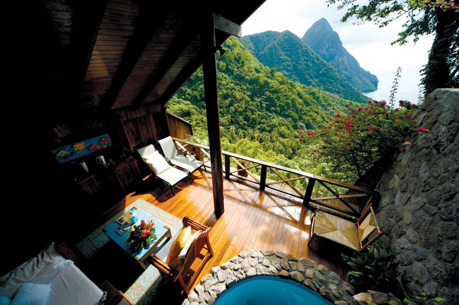 Descubre tu mundo destino santa luc a para so for Hoteles en islas privadas