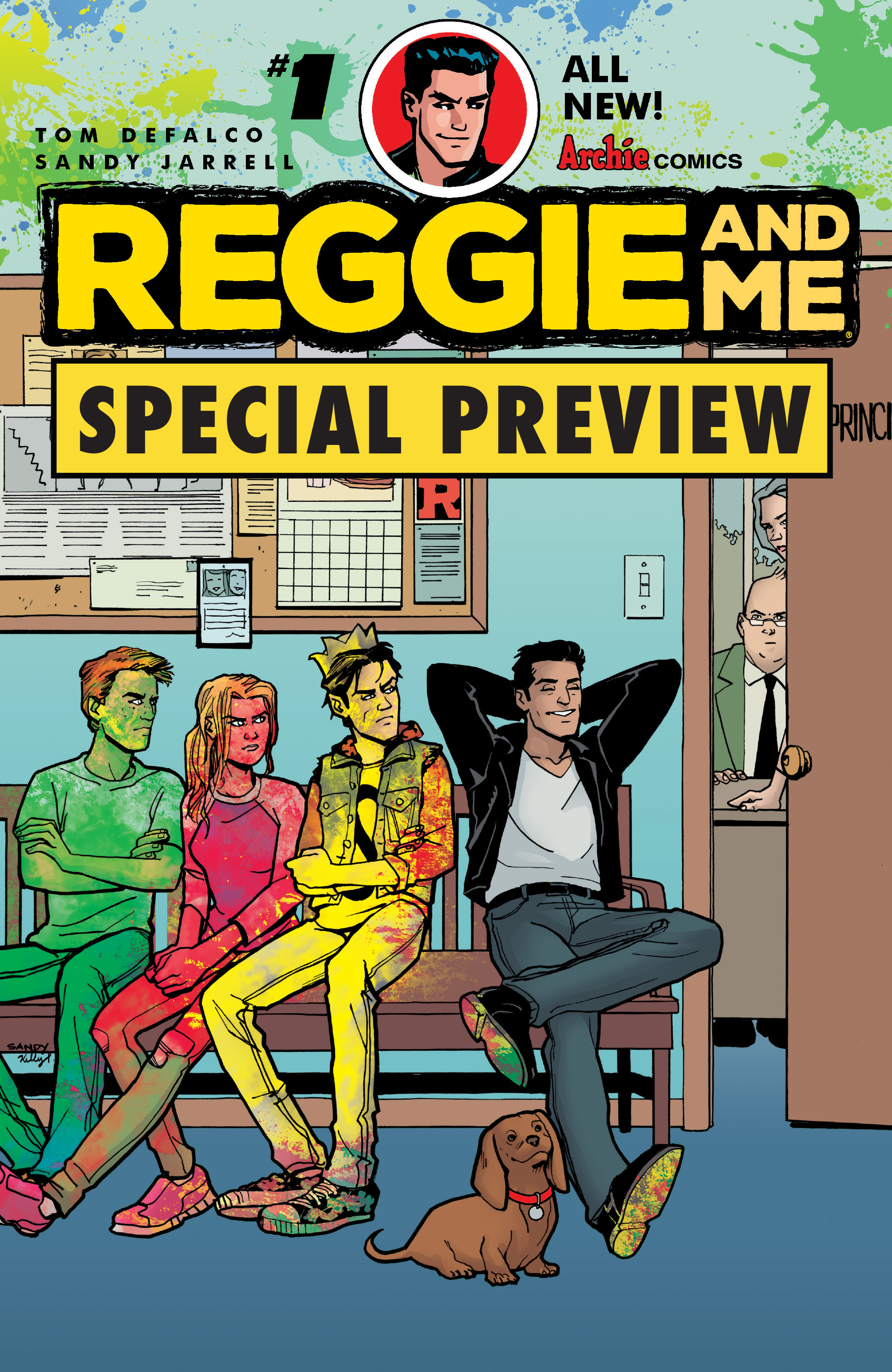 Read online Archie (2015) comic -  Issue #15 - 24