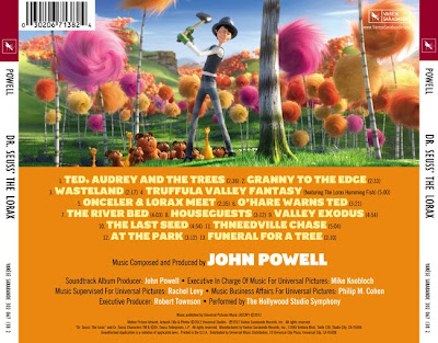 The Lorax Film Score - The Lorax score