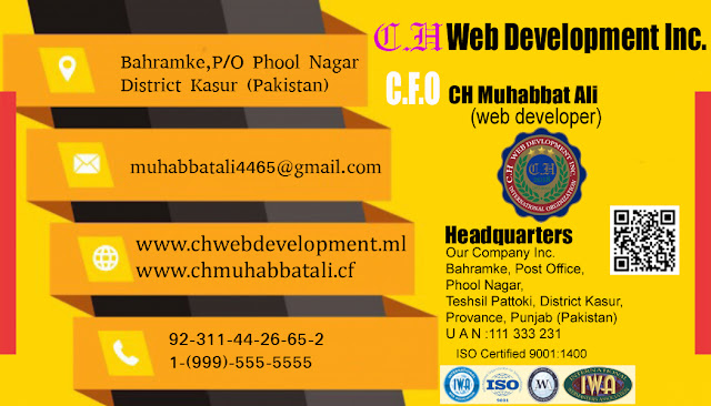 CH Web Development Inc 0311-4426652