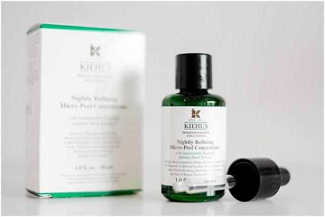 Review Kiehl's Nighly Refining Micro-Peel Concentrate, kiehl's, mỹ phẩm kiehls, kiehls, tẩy tế bào chết