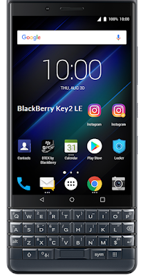 BlackBerry Key2 LE  BBE100-4 - Qualcomm SDM 636 | Android 8.1 Oreo | Google Assistant