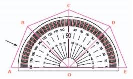 Salah satu materi yang terdapat di kelas  Soal Matematika Kelas 4 SD Kurikulum 2013 - Sudut