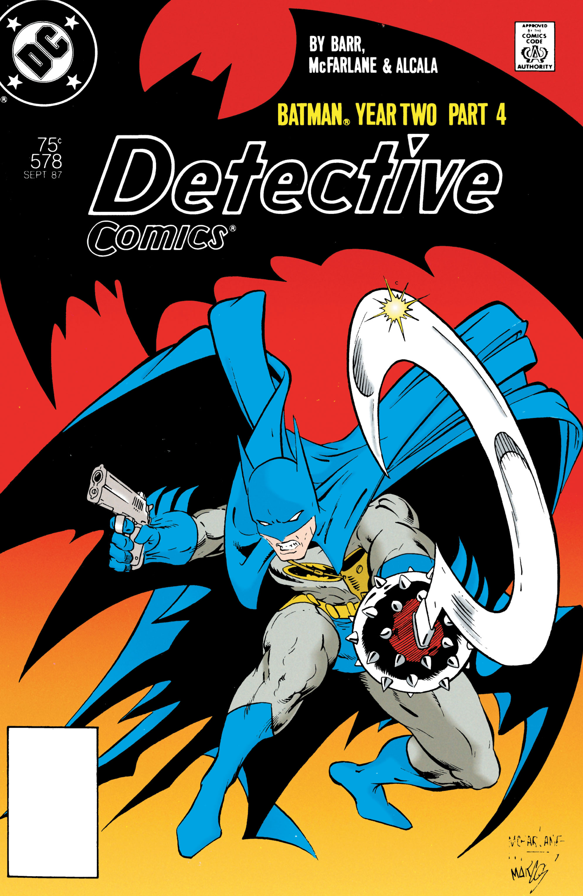 Detective Comics (1937) 578 Page 1