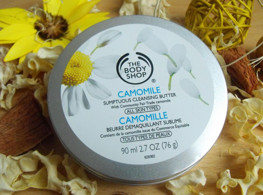 Body Shop Camomile Sumptuous Cleansing Butter
