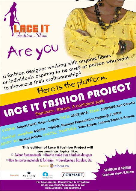 1st Lace It Fashion Runway Show In Lagos