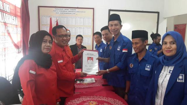 Ketua DPD PAN OKI : H Iskandar Bisa Dengan Siapa Saja
