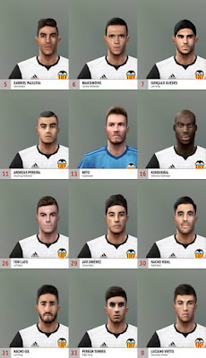PES 6 Valencia 2018 Full Face-Pack HD by Adam & The Kid