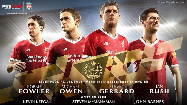 Liverpool FC in Pro Evolution Soccer 2018