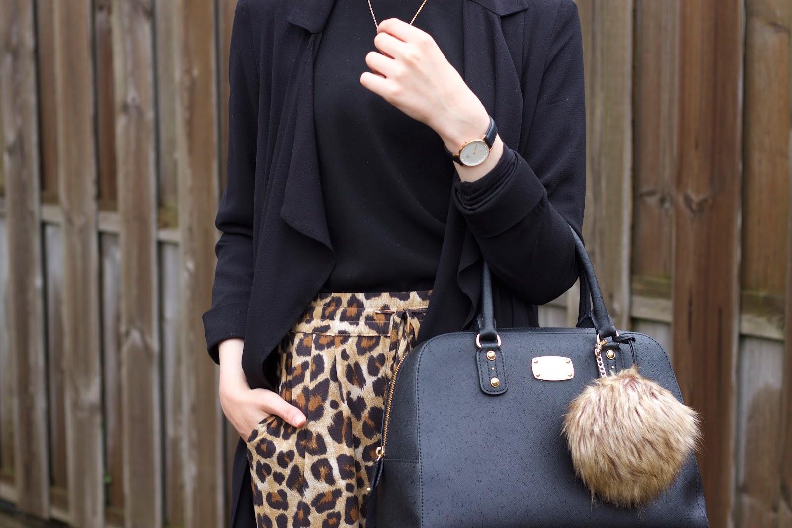 Leopard Trousers X Long Jacket