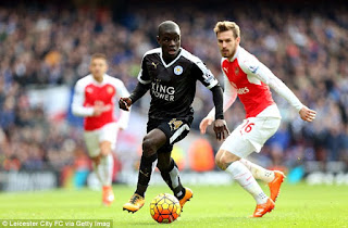 Kante the ex midfielder of Leichester city
