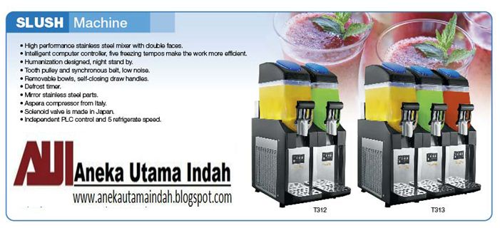 Aneka Utama Indah Slush Machine Granita Machine Mesin