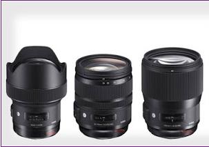 سيجما تطرح ثلاثة عدسات جديدة في سلسلة Art لكاميرات الإطار الكامل