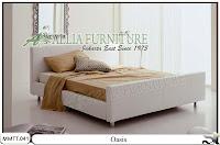 Tempat tidur minimalis modern model oasis 160 X 200