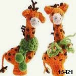 patron gratis jirafa amigurumi, free amigurumi pattern giraffe