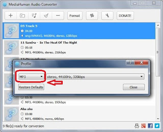 برنامج, خفيف, لتحويل, وتغيير, تنسيق, الملفات, الصوتية, MediaHuman, اخر, اصدار