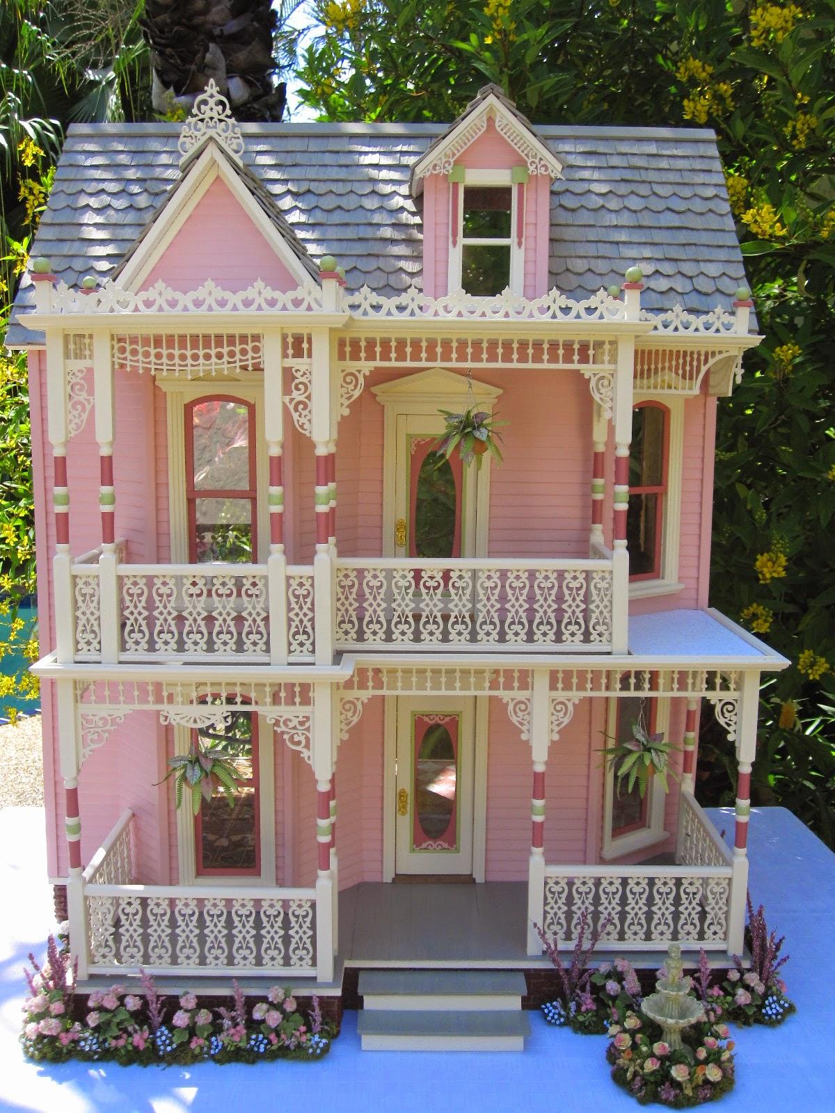Dollhouses By Robin Carey The Elizabeth Street Victorian