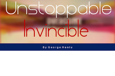 New Song Unstoppable  by George Hentu