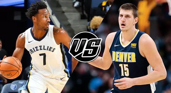 Live Streaming List: Memphis Grizzlies vs Denver Nuggets 2018-2019 NBA Season