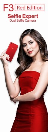 Sarah Geronimo Oppo F3 Red