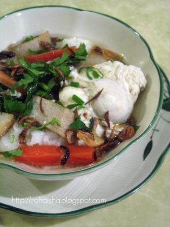 Damai Qalbu Kuey Teow Sup Telur