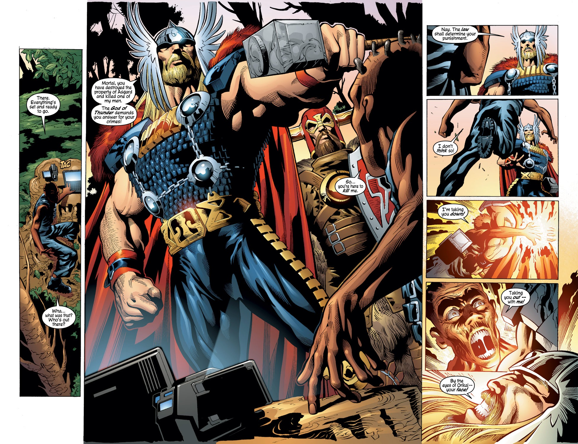 Thor (1998) Issue #56 #57 - English 18