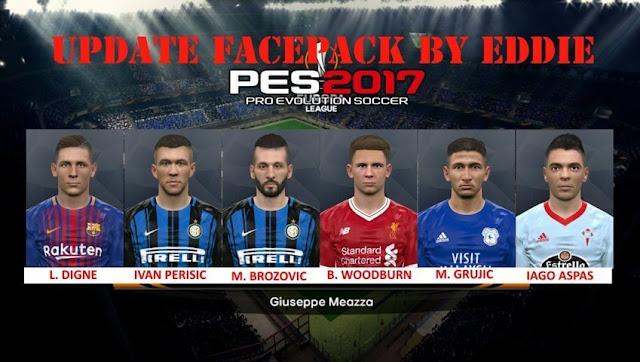 Update Facepack 10-05-2018 PES 2017