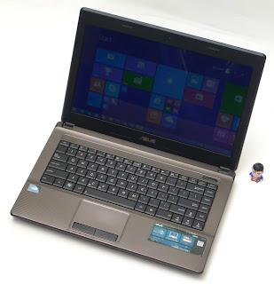 Laptop ASUS X44H Bekas Di Malang
