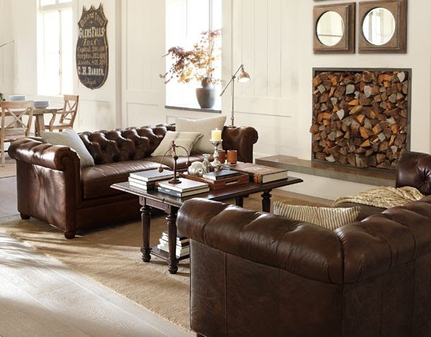 Interior Design: Living Room By Pottery Barn