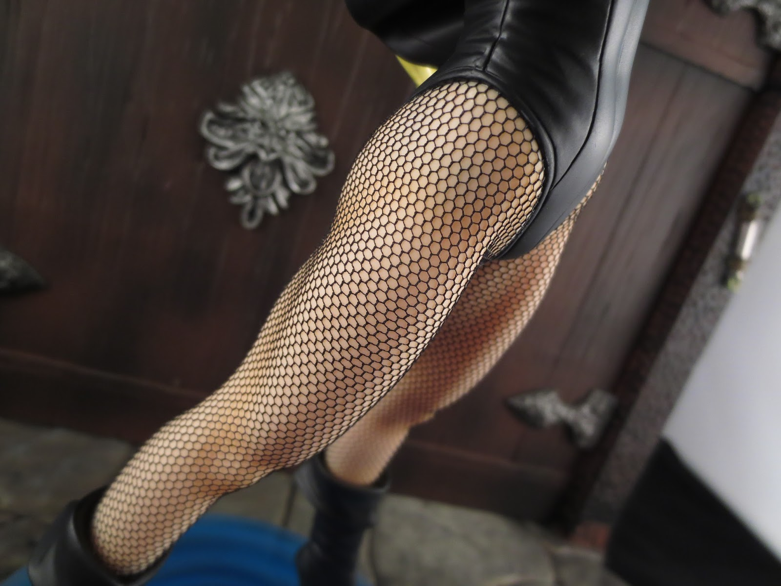 These fishnets were really expensive but totally worth it jo