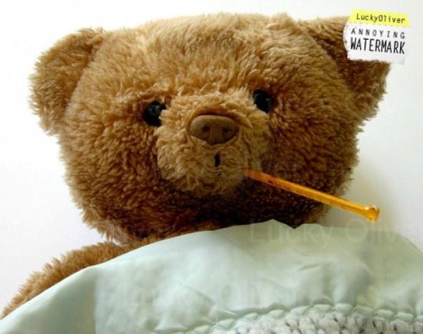 11 Gambar Boneka Teddy Bear Lagi Sakit