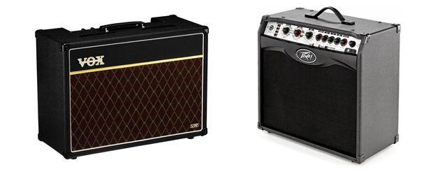 Amplificadores Híbridos y a Transistores para Guitarra Eléctrica