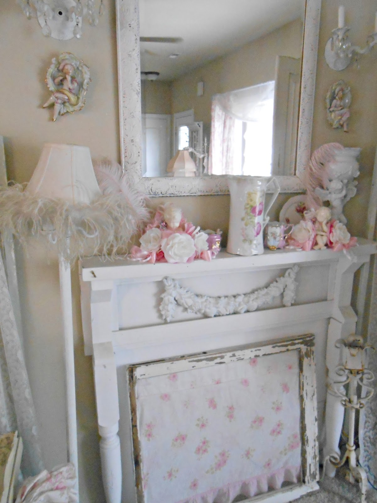 Olivia 39 s romantic home shabby chic living room - What is shabby chic ...