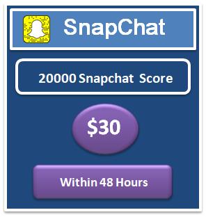 20000 snapchat score