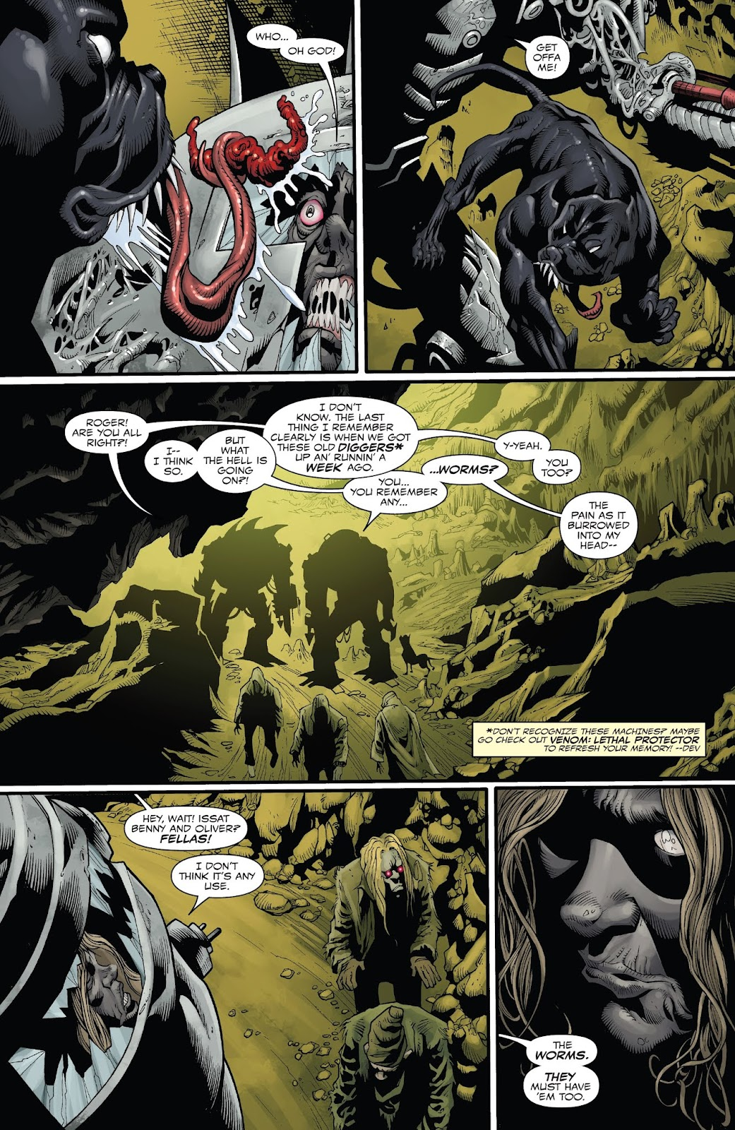 Read online Web of Venom: Unleashed comic -  Issue # Full - 20