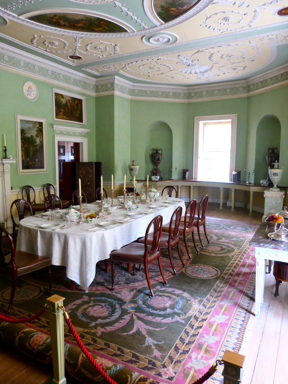 The Dining Room, Saltram (originally The Library)