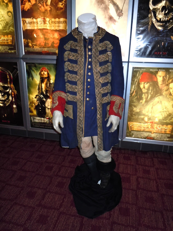 Captain Barbossa Pirates of the Caribbean 4 costume