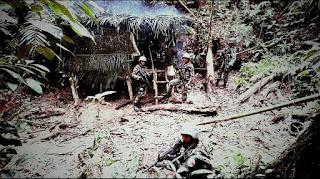 Satgas Pamtas Darat RI-PNG Yonif Raider 700/WYC
