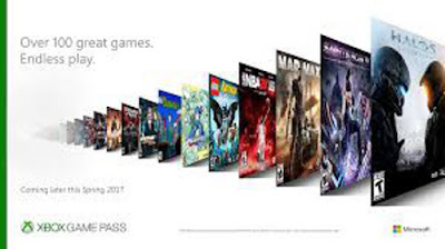 Microsoft LIVE Xbox Game Pass