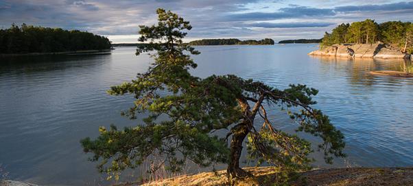 Швеция природные ландшафты