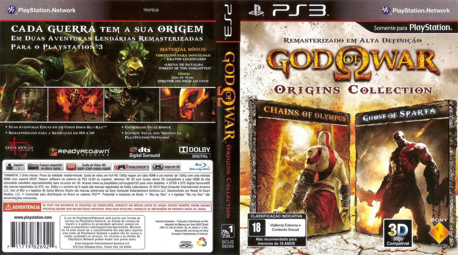 God of war collection ps3 free download.