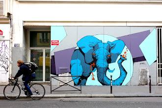 Sunday Street Art : Retro - rue de Belleville - version 2018 - Paris 20