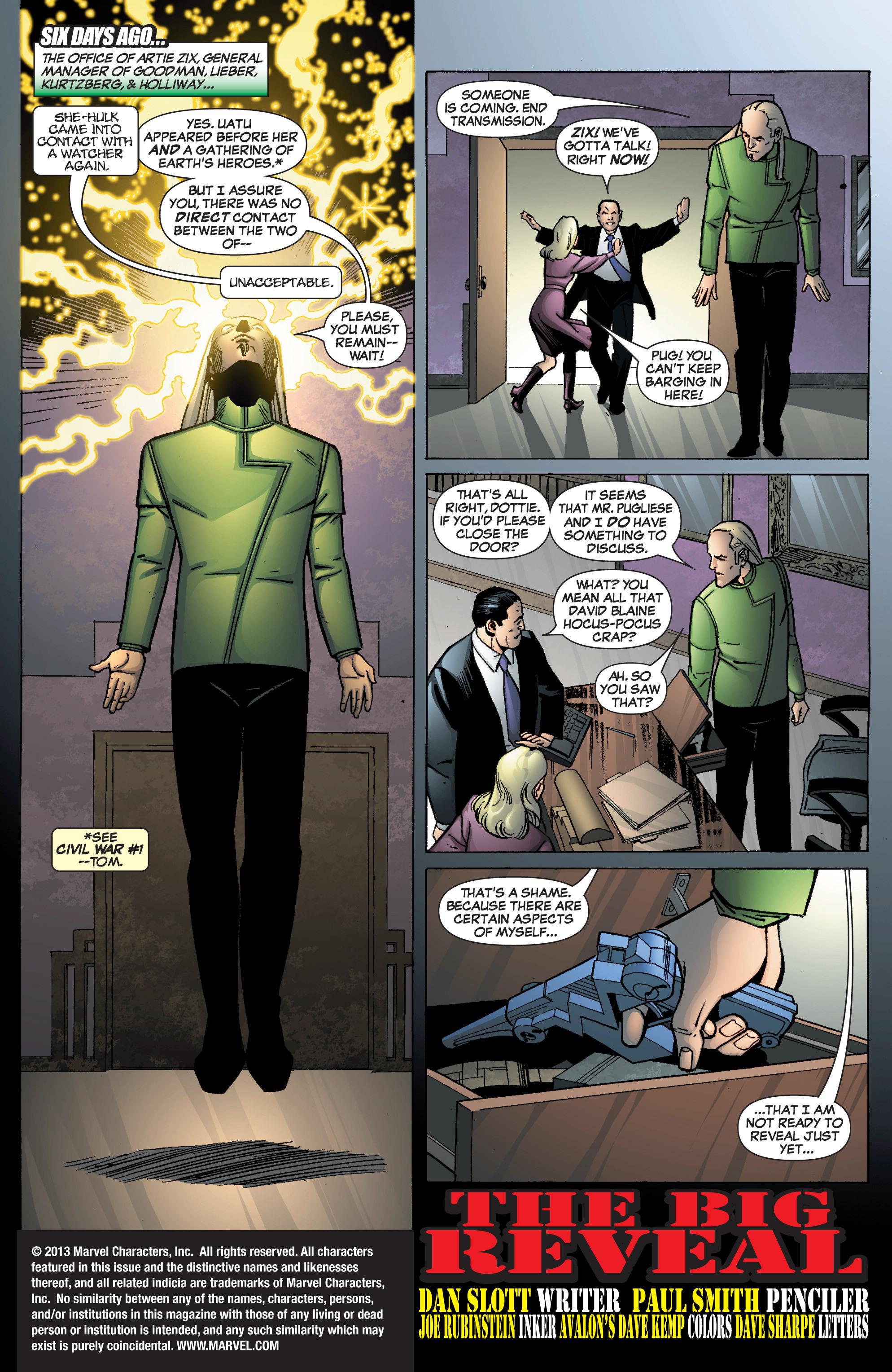 Read online She-Hulk (2005) comic -  Issue #9 - 2
