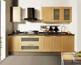 Types of kitchen cabinets Minimalist and efficient