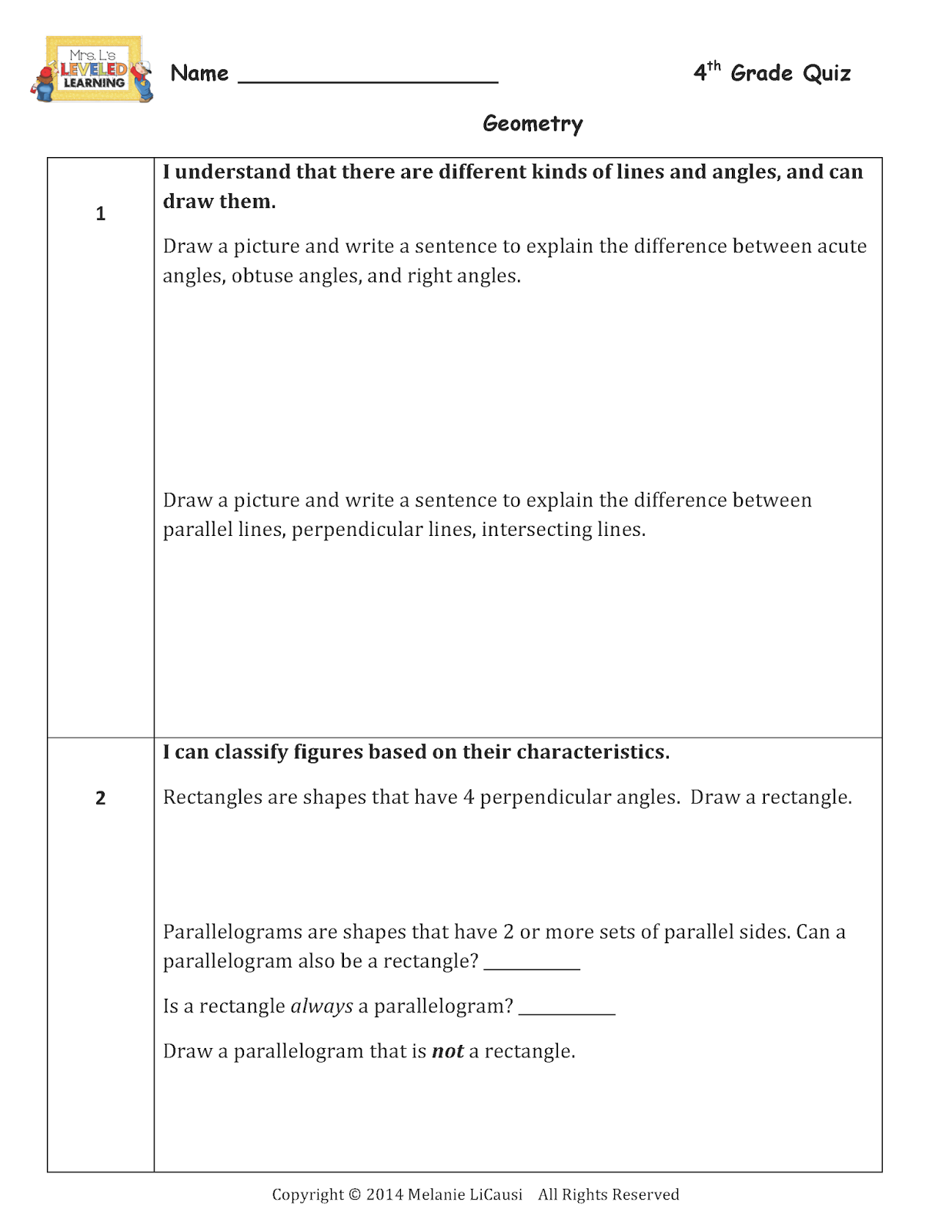 Check Worksheet For 7th Graders